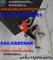 Euskadi escalada 2011
