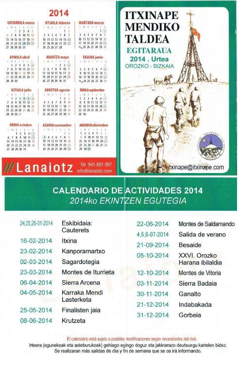 2014Actividades